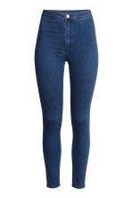 Trousers High waist - Dark denim blue - Ladies | H&M CN 2