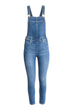 Denim dungarees - Denim blue - Ladies | H&M CN 2
