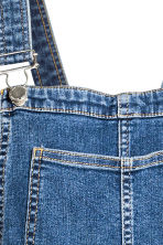 Denim dungarees - Denim blue - Ladies | H&M CN 4