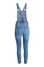 Denim dungarees - Denim blue - Ladies | H&M CN 3