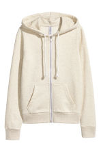 Hooded jacket - Light beige - Ladies | H&M CN 2