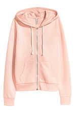 Hooded jacket - Powder pink - Ladies | H&M CN 2