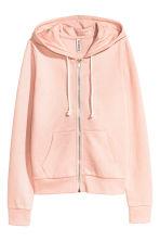 Hooded jacket - Powder pink - Ladies | H&M GB 2
