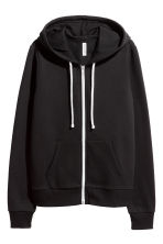 Hooded jacket - Black - Ladies | H&M CA 2