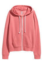 Hooded jacket - Terracotta pink - Ladies | H&M CN 2