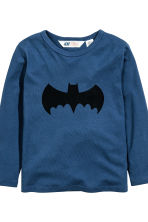 Lot de 2 T-shirts - Gris/Batman - ENFANT | H&M FR 4