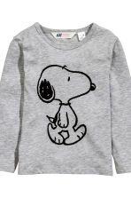 Lot de 2 T-shirts - Bleu/Snoopy -  | H&M FR 3