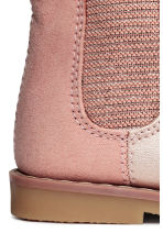 Lined Chelsea boots - Light pink - Kids | H&M 4