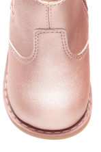 Lined Chelsea boots - Light pink - Kids | H&M 3
