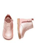 Lined Chelsea boots - Light pink - Kids | H&M 2