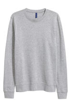 Sweat - Gris chiné -  | H&M FR 2