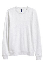 Sweatshirt - Light grey - Men | H&M CN 1