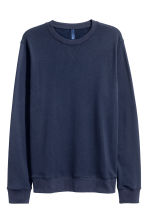 Sweatshirt - Dark blue - Men | H&M 2