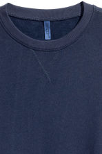 Sweatshirt - Dark blue - Men | H&M 3