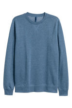Sweatshirt - Grey-blue - Men | H&M 2
