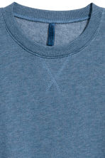 Lightweight sweatshirt - Grey-blue - Men | H&M CN 3