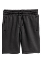 Sweatshirt shorts - Black - Men | H&M CA 2