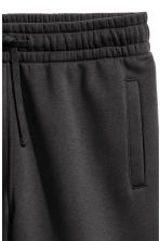 Sweatshirt shorts - Black - Men | H&M CN 4