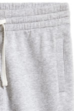 Shorts in felpa - Grigio mélange -  | H&M IT 3