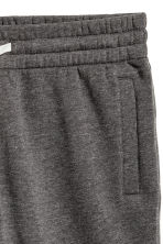 Sweatshirt shorts - Dark grey marl - Men | H&M CN 3