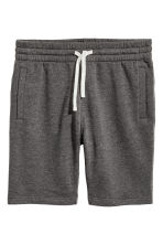 Sweatshirt shorts - Dark grey marl - Men | H&M CN 2