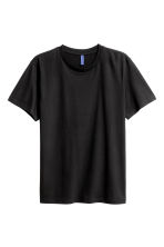 T-shirt a girocollo - Nero -  | H&M IT 2