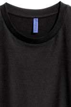 T-shirt a girocollo - Nero -  | H&M IT 3