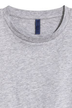 Round-necked T-shirt - Grey marl - Men | H&M CN 3