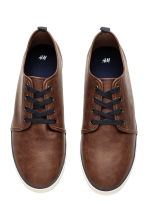 Trainers - Dark cognac brown -  | H&M 2
