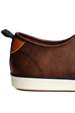 Trainers - Dark cognac brown -  | H&M 4