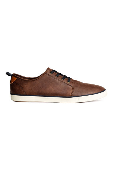 Trainers - Dark cognac brown -  | H&M 1