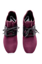 Mesh trainers - Plum - Men | H&M 3