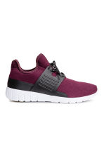 Mesh trainers - Plum - Men | H&M 2