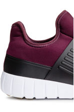 Mesh trainers - Plum - Men | H&M 5