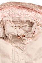 Cotton parka - Powder pink -  | H&M 2
