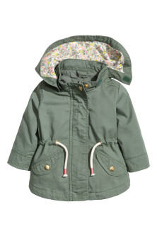 Cotton parka