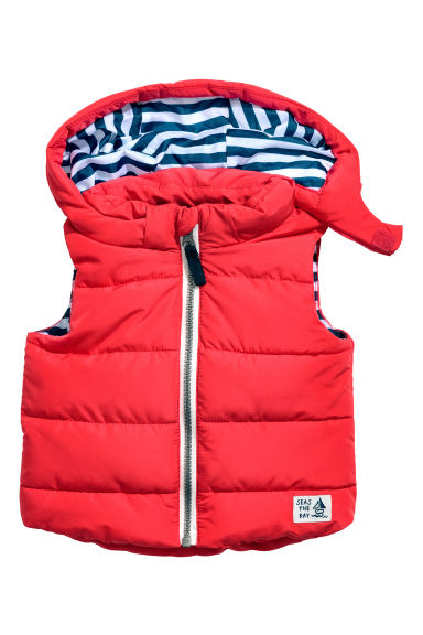 Padded gilet - Red - Kids | H&M 1