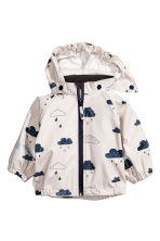 防水外套 - Dark blue/Cloud - Kids | H&M 1