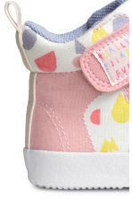 Patterned trainers - White/Light pink - Kids | H&M 4