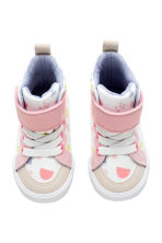 印花運動鞋 - White/Light pink - Kids | H&M 2