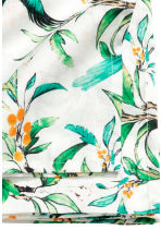 Patterned cotton tablecloth - White/Birds - Home All | H&M GB 3