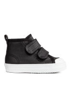 Lined trainers - Black -  | H&M 1