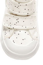 Lined trainers - Nat. white/Spotted -  | H&M 3