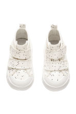 Lined trainers - Nat. white/Spotted -  | H&M CN 2