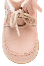 Moccasin ankle boots - Light pink - Kids | H&M CN 3