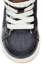 Pile-lined trainers - Dark blue - Kids | H&M 3