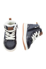 Pile-lined trainers - Dark blue - Kids | H&M 2