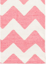 Zigzag-print cotton rug - White/Pink - Home All | H&M CN 4