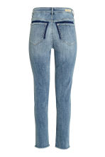 Slim High Twisted Jeans - Denim blue - Ladies | H&M CN 3