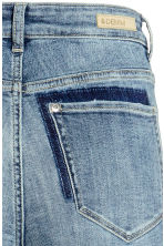 Slim High Twisted Jeans - Denim blue - Ladies | H&M CN 4